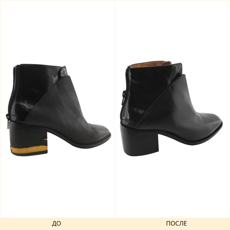 Ремонта обуви, замена обтяжки каблука