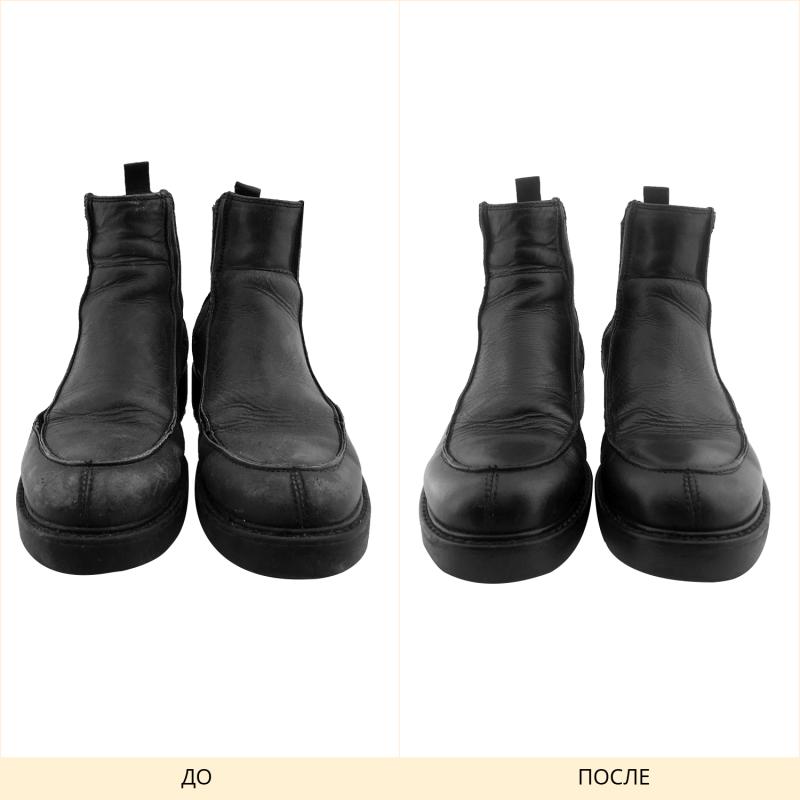 Прошивка и полировка обуви
