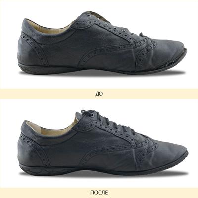 Фото реставрации обуви